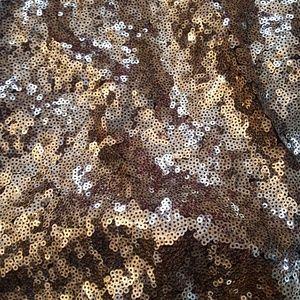 Eloquii Dresses - Gold sequin wrap dress